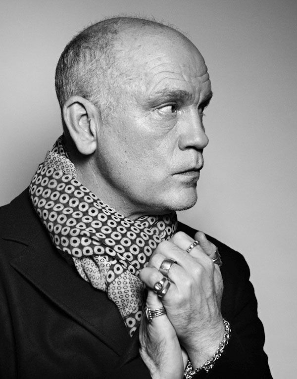 John Malkovich (1953) - American actor, producer, director, and fashion designer. Photo by Sébastien Agnetti