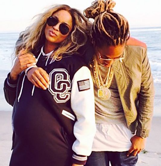 Ciara and Future Welcome Baby Boy -- Find Out His Name!