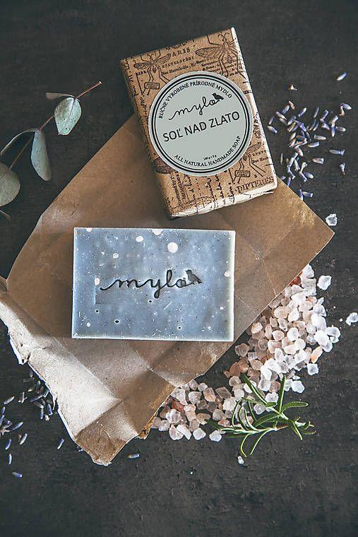 Mylo / Mydlo s himalájskou soľou, rozmarínom, eukalyptusom, levanduľou a bergamotom