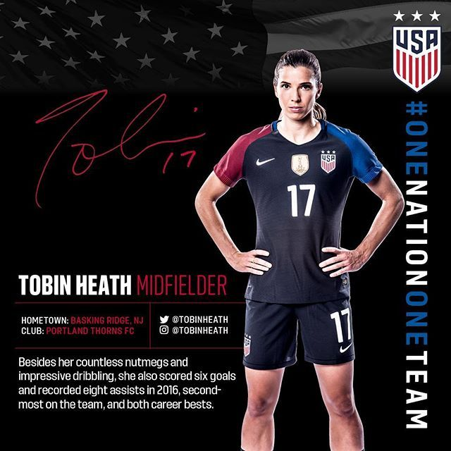 In 2016 Tobin Heath had some sweet moves and passes and goals. Read our #MakingTheCase series on why she should be the Player of the Year on ussoccer.com