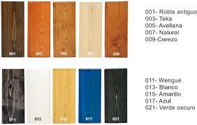muestrario de maderas teñidas - Buscar con Google