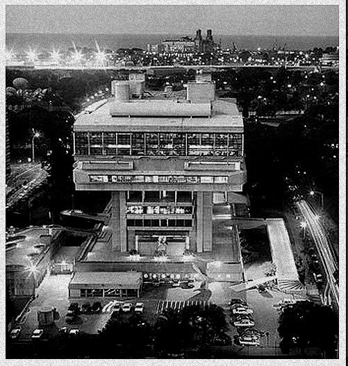 Biblioteca nacional de Buenos Aires - Clorindo Testa