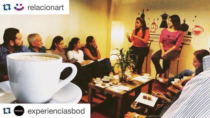 Cuéntanos cómo te sentiste! estamos deseos por saber si disfrutaste  compartir tanto como nosotros esta hermosa experiencia de Café Para El Alma  #Repost @relacionart  Buenos días mis amores!! HOY ES EL MEJOR DÍA DE MI VIDA!!! ... Qué hermosa experiencia vivimos ayer @monicagonzalezvg y yo  en @cafe_paraelalma #express un café bien concentrado en íntimo e igualmente profundo a los habituales!! Gracias infinitas a @experienciasbod por la invitación y por todo lo nuevo que viene a partir de…