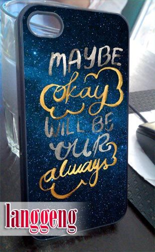 The Fault in our stars always  iPhone 4/4s/5 Case by LanggengStore, $13.50