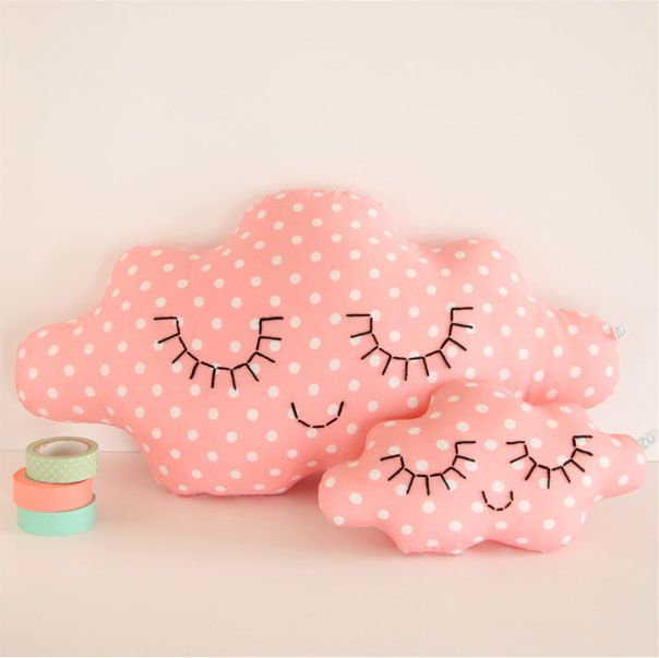 Zü cloud cushion tender pink