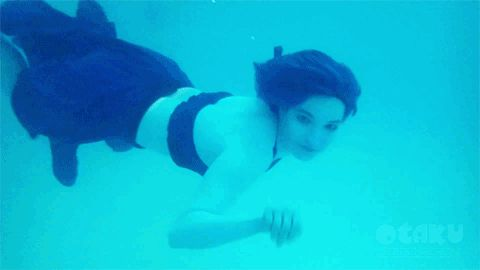 Lapis Lazuli actually under water in real life this is amazingly done SU (Steven Universe) Cosplay