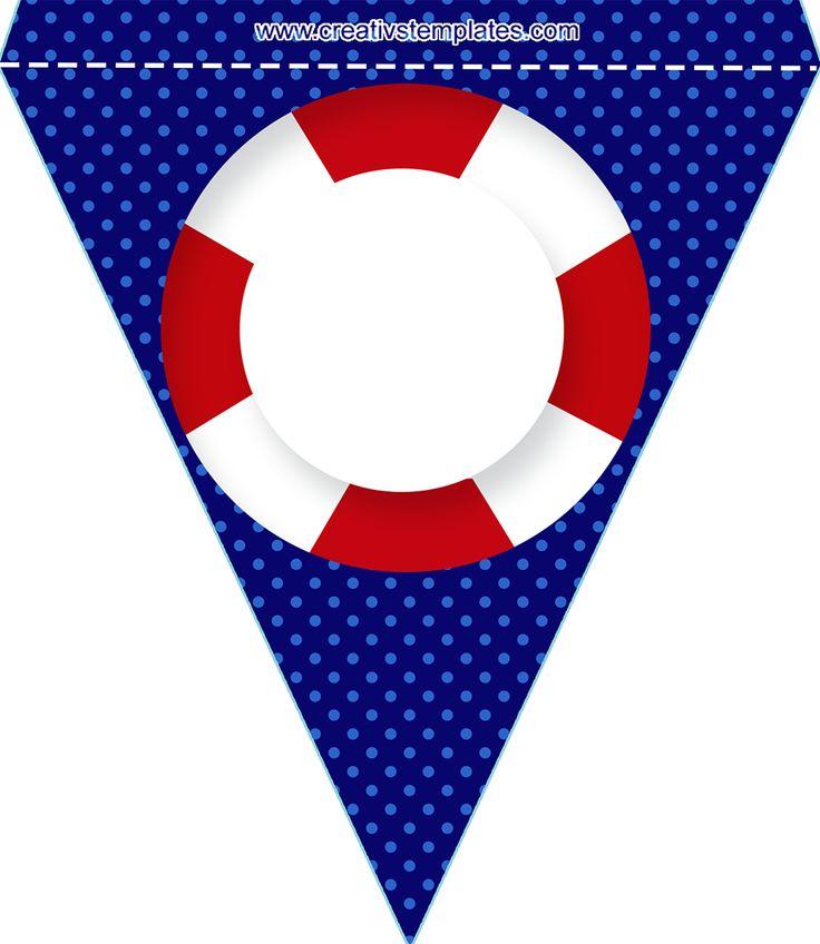 Bandeirola para nome