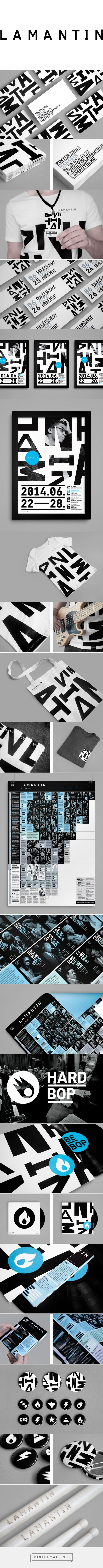Lamantin Jazz Festival Branding by Hidden Characters | Fivestar Branding Agency – Design and Branding Agency & Curated Inspiration Gallery
