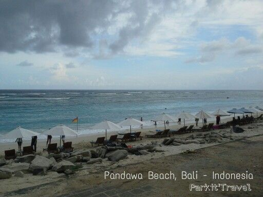 One of some nice beaches in Bali, it will be nice if you come around 3 o'clock in the evening, or 8 to 9 o'clock in the morning, so the weather won't so hot. :p