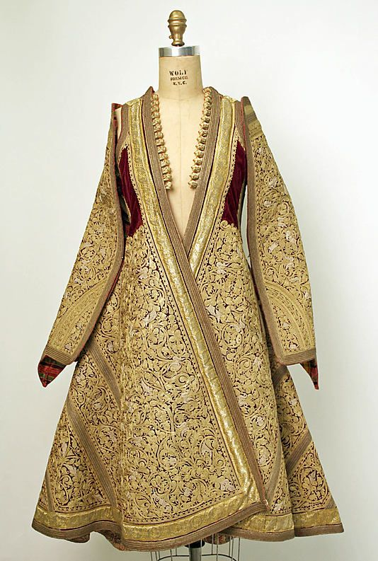 Wedding Ensemble. Late 19th–early 20th century, Serbian. The Metropolitan Museum of Art, New York. Gift of Mr. Robert Grinnell, 1967 (C.I.67.43a–g)