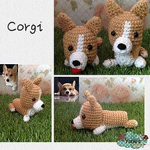 Crochet Corgis  No pattern Inspiration only   Crochet with love by Yunie's