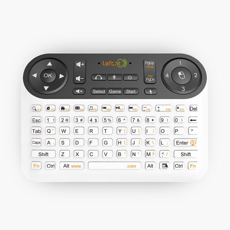 Cool  in Fly Air Mouse Wireless Mini Keyboard Gamepad TV Remote Control