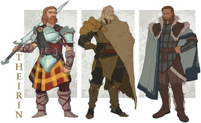 Calenhad, Maric and Alistair http://tainted-knight.tumblr.com/