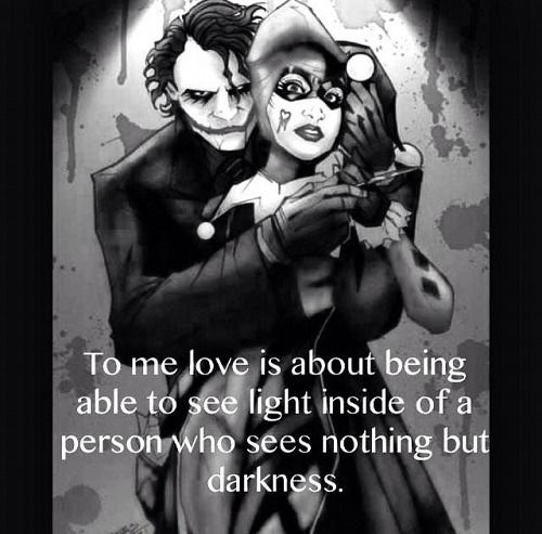 Joker And Harley Love Quotes : Joker Love Quotes. QuotesGram