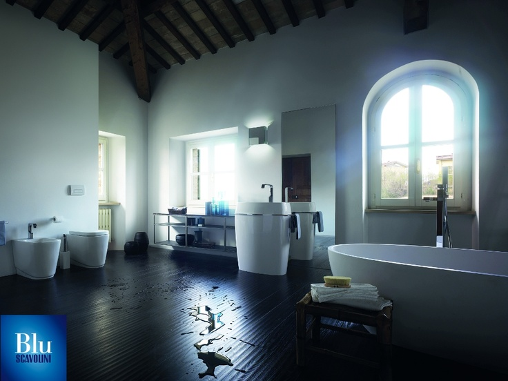 Habi Collection. The #bathroom according to Scavolini. #BluScavolini