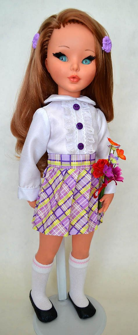 Plaided Purple for Furga s Girls   eBay sold for $38 on 05-18-15