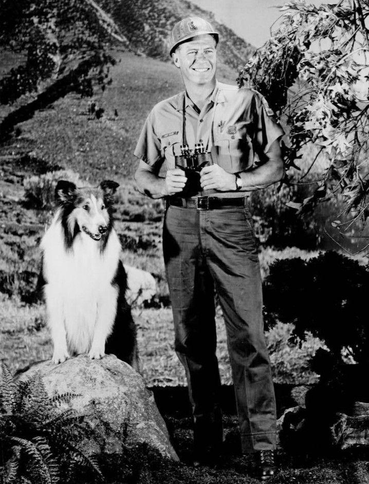 Robert Bray and Lassie,1967