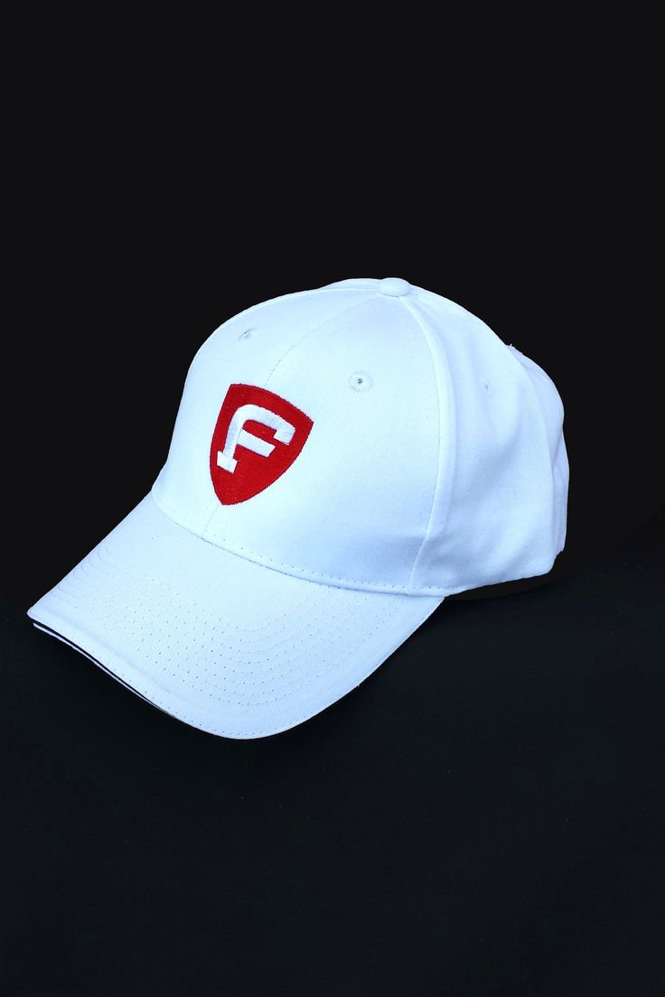 Great Christmas Gift! - Fat Athlete Sandwich Bill Cap - White - Velcro size adjustments at back - also sold in black - $14.99  http://www.fatathlete.com/index.php/products/headwear