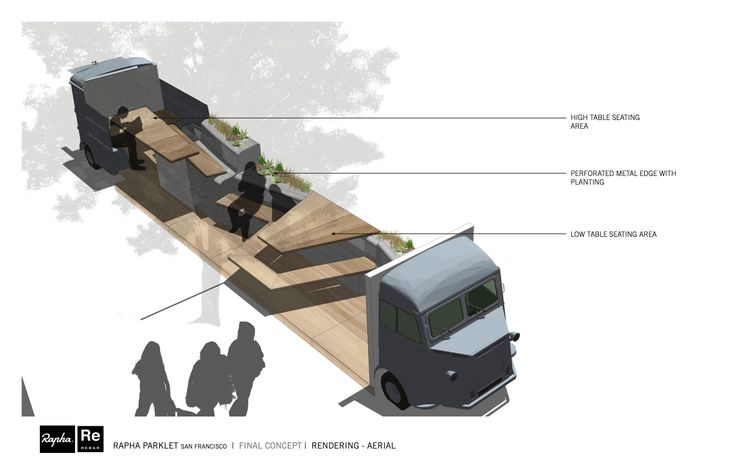 DesignApplause | A nod to the parklet.