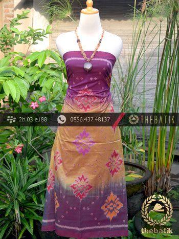 Kain Tenun Indonesia Motif Wajik Pelangi Ungu Kuning | Indonesian Ikat Fabric Pattern Design http://thebatik.co.id/kain-batik-bahan/