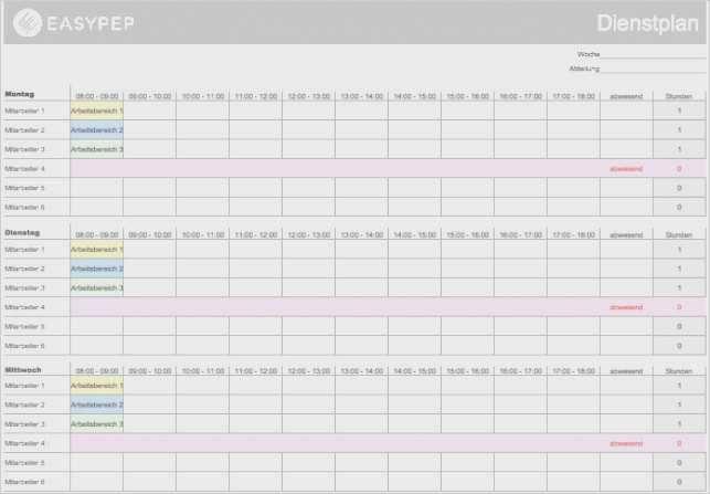 Arbeitsplan Vorlage Excel 21 Beste Praktisch Ebendiese Konnen Einstellen Fur Ihre Wichtigsten In 2020 Dienstplan Excel Vorlage Briefkopf Vorlage