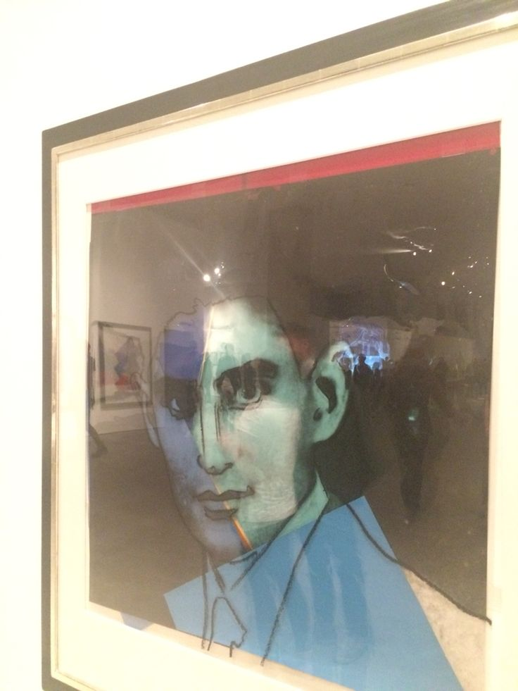 Franz Kawka by #AndyWarhol #10Jews #contemporaryart
