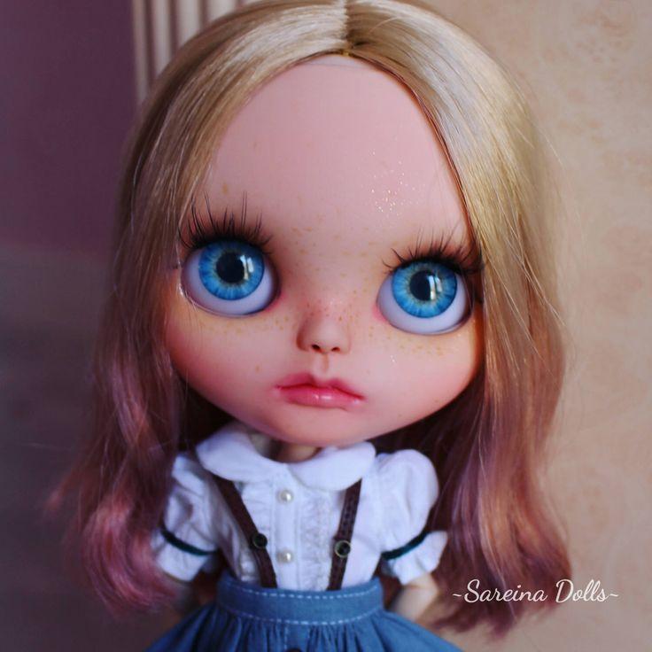 "Ooak art doll custom neo Takara Blythe #02 ""Vanilla"" by SareinaDolls by SareinaDolls on Etsy https://www.etsy.com/listing/506246240/ooak-art-doll-custom-neo-takara-blythe"