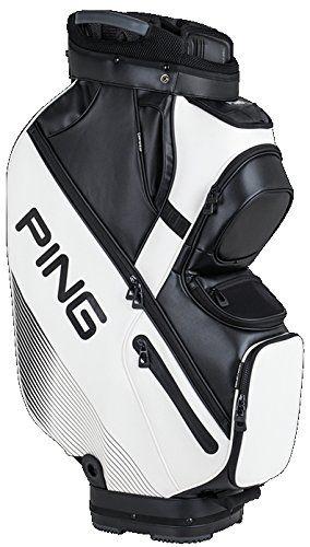 PING Golf Men's DLX Cart Bag, White