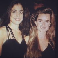 Bethany Frankal and Kyle Richards before they were famous.