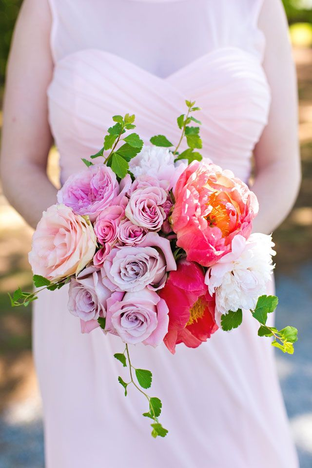 517 best Pink Wedding Ideas images on Pinterest | Bridal bouquets ...
