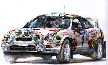 TTE TOYOTA CELICA GT-FOUR ST205