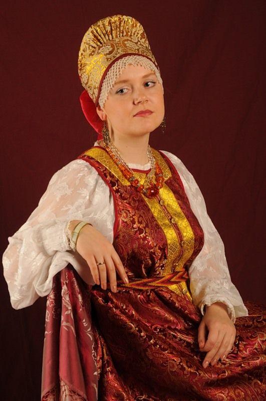 Русский народный костюм - Страница 11 - Беседка