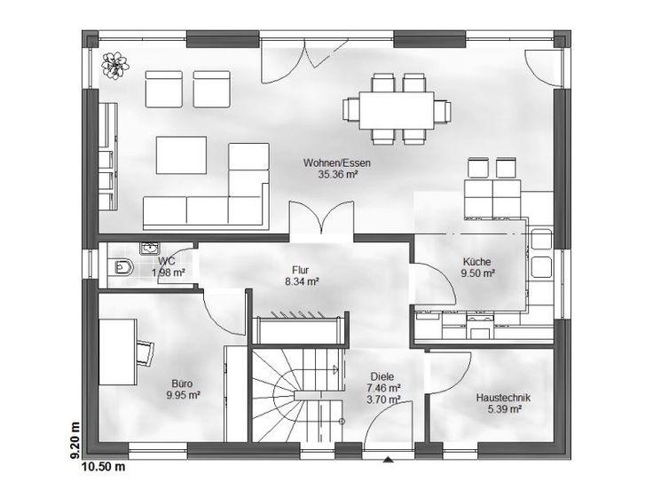 819 best bauplan images on pinterest floor plans for Bauplan stadtvilla