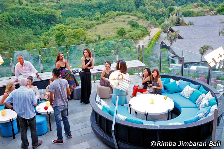 Unique Rooftop Bar at Rimba Jimbaran, one of the 'it' place in Jimbaran you have to pay a visit just to sit back and relax