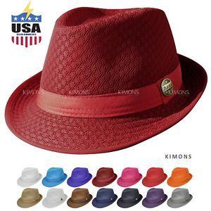 d6565724732f7d Light-Weight-Mesh-Fedora-hat-Soft-Cool-Summer-Classic-Trilby-Cuban -Beach-Sun-Cap