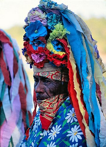 Tarahumara Matachin dancer of La Sierra de Chihuahua, Mexico