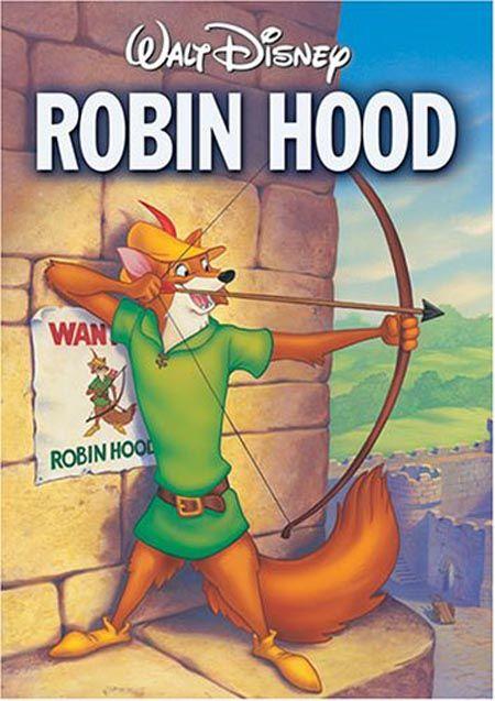 Robin Hood (1973). Brian Bedford, Phil Harris, Peter Ustinov.