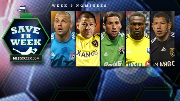 Nick got nominated for save of the week twice this week.  He's won it more than any other keeper this year.