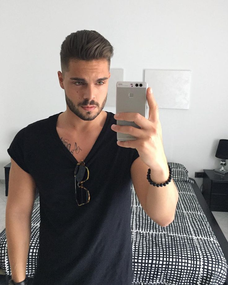 mens medium hair styles see this instagram photo by stefanotratto 18 9k likes 2077