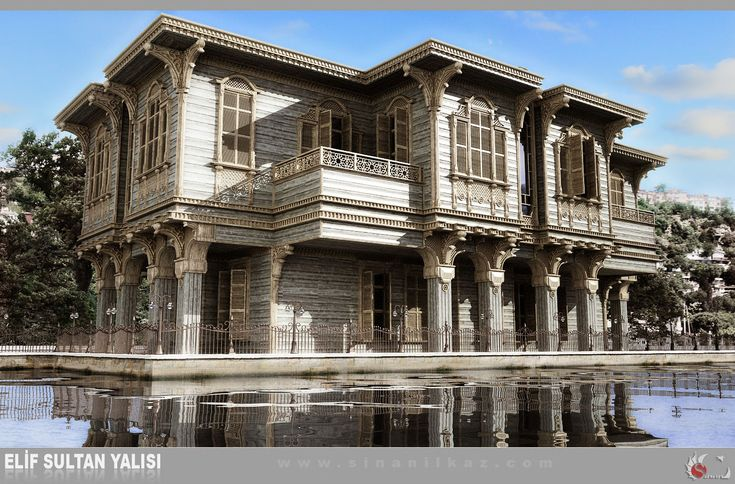 beautiful old Istanbul yali