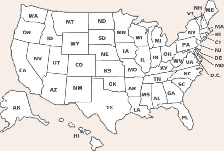 United States Coloring Sheets