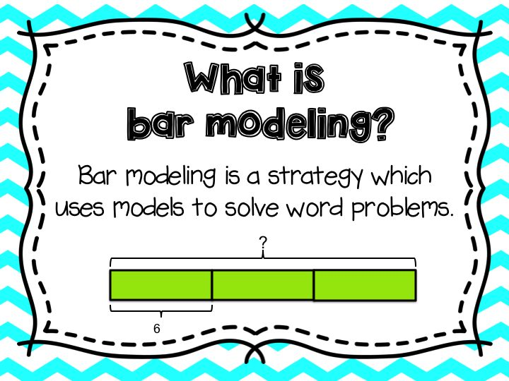 Are you looking for a way to help support your students when solving word problems? Bar modeling is a tool/strategy students learn to use when solving word problems. This powerpoint is an excellent introduction for students and gives seven simple steps to following when using bar modeling.