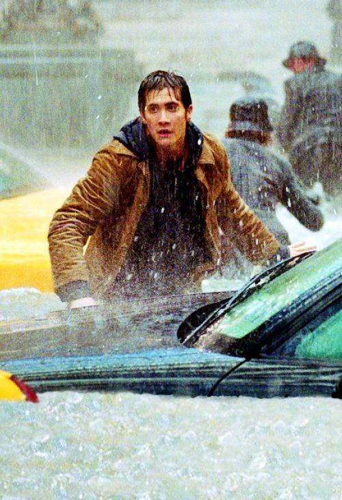 The Day After Tomorrow - Great movie besides all the environmental stuff. Plus, had my main man Jake in it!