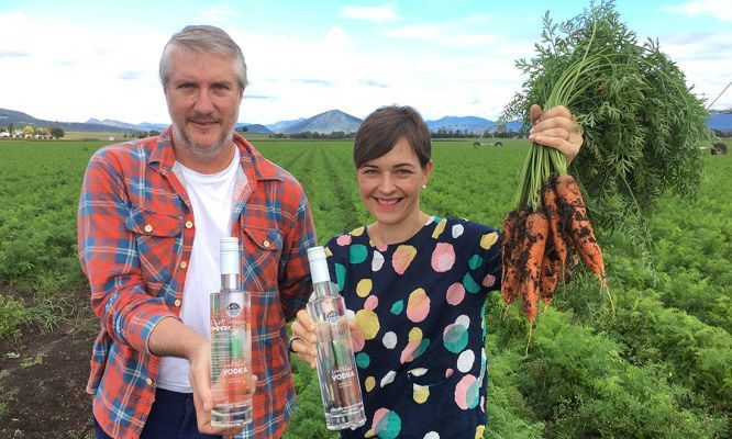 #Carrots are a versatile #vegetable, perfect with a roast, great in a cake and ideal for sticking into dips. But who knew they could also be made into #vodka?