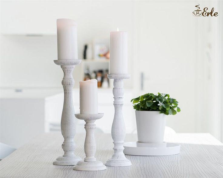 Bilderesultat for erle hvit lysestake