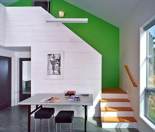 Interior wall treatment - paint.
