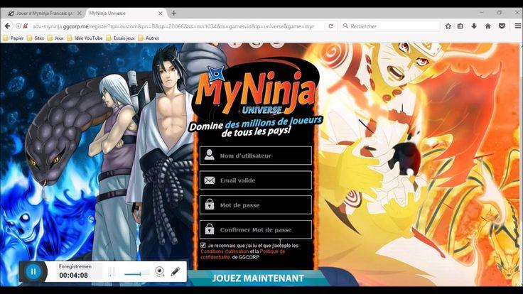 Découverte de jeux sur navigateur ~~ MyNinja - En Français !!!