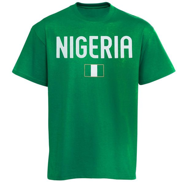 Nigeria Country Flag T-Shirt - Green - $19.99