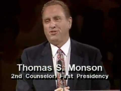 Your Patriarchal Blessing - A Liahona of Light - Thomas S. Monson - October 1986 General Conference - YouTube