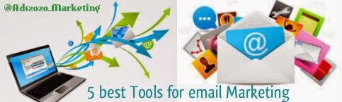 #Top Email Marketing #Tools! Find out what 5 emailing Tools are used by the #Marketing Experts!